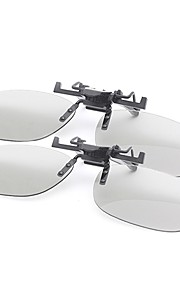 M&K Polarized Light Thicken Myopia Clamping Piece Suits of 3D Glasses for Imax Film (2Pcs)