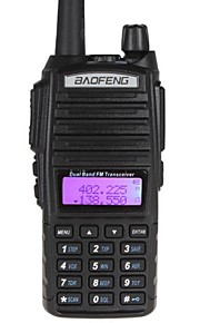 BaoFeng UV-82 Walkie Talkie 128CH 400-470MHz / 136-174MHz 1800mAh 5KM-10KM Two Way Radio