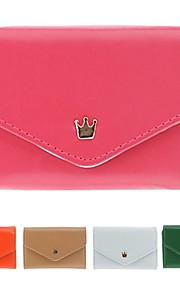 Kvinner'S Multi Foreslå Konvolutt Wallet Purse for iPhone og Samsung (assortert farge)