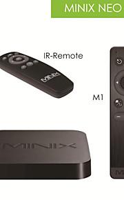 minix neo x8 + m1 caixa de tv quad core + 2.4g mouse sem fio de seis eixos fly AirMouse com XBMC, 2 g 8 g