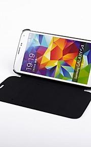 4200 mah di sostegno esterna caso caricabatterie per Samsung Galaxy s5 (nero) / samsung galaxy s5 4200mAh batteria fondina