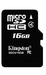 kingston classe 16gb cartão de memória microSDHC 4