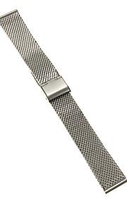 Masculino / Feminino Pulseiras de Relógio Aço Inoxidável #(0.047) #(16.5 x 2 x 0.3)