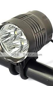 Iluminação Luzes de Bicicleta 5000 Lumens Modo Cree XM-L T6 18650.0 Recarregável / Resistente ao Impacto / Bisel de GolpeCampismo /