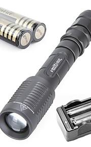 Trustfire® LED Flashlights/Torch / Bike Lights / Lanterns & Tent Lights / HID Flashlights/Torch / Diving Flashlights/Torch 3000 Lumens