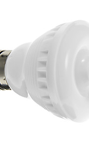 e26 / e27 3 w 12 smd 5050 160-180 lmcool / varm hvit linje sensor spotlights ac 220-240 v