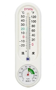 ABS Household Resin Thermometer Hygrometer (-20~50 ℃)