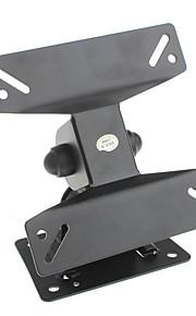 yuanbotong montaje 14-23 pulgadas giratoria led universales / de la pared del lcd para el televisor de pantalla plana