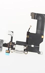 разъем док-станции зарядное устройство зарядки порт и микрофон Разъем для наушников Flex ленточный кабель запасных частей для Iphone 5