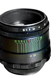 brugte Helios 44-2 58mm f / 2,0 kameralinsen på M42 linse mount (næsten ny)