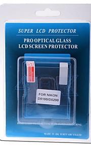 professionel LCD-skærm protektor optisk glas særligt for Nikon D5100 / D5200 DSLR-kamera