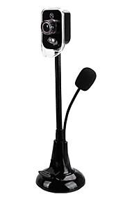 ראיית לילה K6 diyiyan הובילה מצלמת אינטרנט עם מיקרופון מובנה