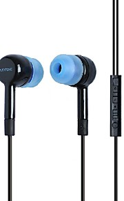 plextone® x31m in-ear øretelefon med mikrofon og compatibe til iphone6 ​​/ iphone6 ​​plus mobiltelefon / pad / mp3 / pc
