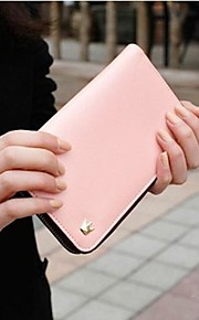 pu multi lommebok vesken for iphone og samsung (assortert farge)