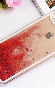 stjärnor drivande sand mönster pc tillbaka fallet för iphone 6 (blandade färger)