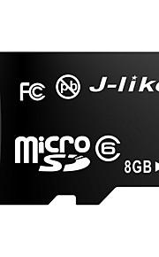 j-like® microsdhc tf Class6 carte mémoire 8 Go