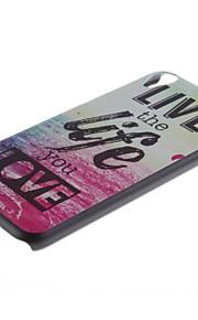 용 HTC케이스 패턴 케이스 뒷면 커버 케이스 단어 / 문구 하드 PC HTC