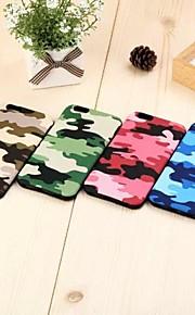 kamouflage mönster TPU täcker hårt för iphone 6 (blandade färger)