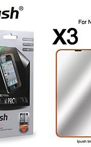 노키아 635에 대한 높은 투명성 미러 LCD 화면 보호기 (3 개)