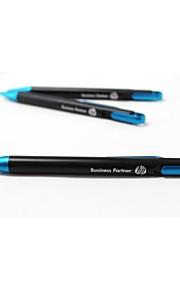 hp blåt blæk kuglepen