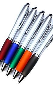 universele scherm stylus pen met een balpen