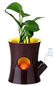 neje esquilo bonito criativo auto-molhando vaso de desktop bonsai