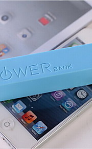 a5 mobiele power bank voor iphone 6/6 plus / 5 / 5s / samsung S4 / S5 / note2 (2600mAh)