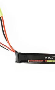 neewer® leão poder rc bateria lipo 11.1v 1050mAh 20c bateria akku arma de airsoft