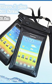 pvc undervattenshus 15m vattens telefon väska påse torrt med arm band för iphone 4 / 4s / 5 / 5s / 5c / 6/6 plus och andra