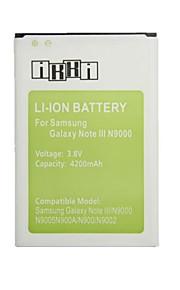 ikki ™ vervanging 4200mAh 3.8V Li-ion batterij voor Samsung Galaxy Note 3 / N9000 / n9005 / n900a / n9002