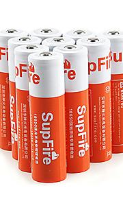 SupFire Orange 3000mAh 18650 Rechargeable Battery (1pcs)