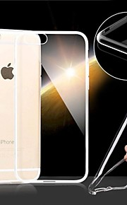 ultratunna genomskinligt mjukt täcker fallet för iphone 6