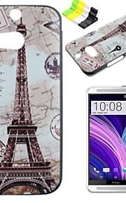 용 HTC케이스 패턴 케이스 뒷면 커버 케이스 에펠탑 하드 PC HTC