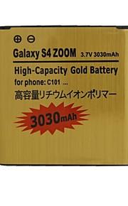 vervangende 3030mah 3.7v batterij voor Samsung Galaxy S4 zoom / C101 / C1010