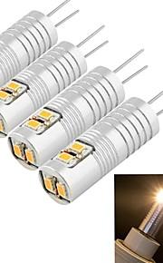youoklight® de la g4 2.5w 6 * SMD3014 100LM blancs ampoules de maïs chaudes / froides (ac / DC12V)