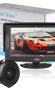 4.3 Inch 480 x 272 TFT LCD Color Display Car Rearview Headrest Monitor with CMD Car Camera