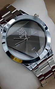 Herrenuhr Mode transperant Dreieckswahlvollstahl Atmosphäre Kleid Armbanduhr (farbig sortiert)