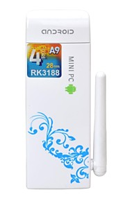 ZD-QQ4 Quad Core Android 4.2 Google TV Player with 2GB RAM, 8GB ROM, Bluetooth