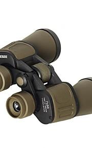 Moge ® 7x50 Binoculars Zoom Binoculars High Definition Telescope  Night Vision Red Eye Lens  B169