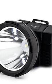 Hovedlygter LED Tilstand 300 Lumens Vanntett / Genopladelig / Lygtehoved LED AndetCamping/Vandring/Grotte Udforskning / Cykling /