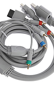 1.8M 5.904FT 4 in 1 HDMI Cable All-Console Component Audio Video Cord for Wii XBOX360 PS2 PS3