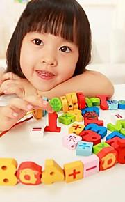 benho farve nummer perler træ uddannelse legetøj perler