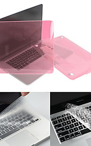 "Hat-Prince Matte Hard Protective PC Full Body Case and Keyboard Film for MacBook Pro 13.3"" / 15.4"" with Retina Display"