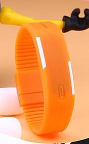 Relógio Esportivo (LED/Touchscreen/Calendário/Resistente à Água) - Digital