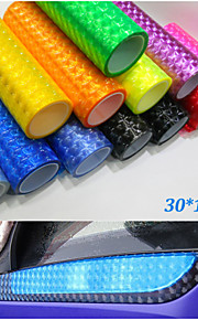 30cm*100cm Cat Eye Auto Car Styling Headlights Stickers Car Taillight Film Stickers Car accessories