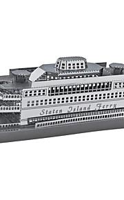 3d metal værker model fascinationer af Staten Island Ferry 1: 1100