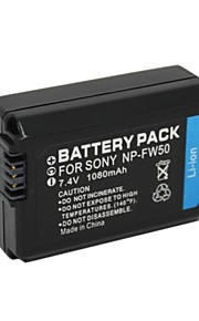 NP-FW50 - Li-ion - Batterij - voor for Sony  DLSR A33, A35, A37,A5000. NEX-3, NEX-3A, NEX-3D - 7.4V - ( V ) - 1500mAh - ( mAh )