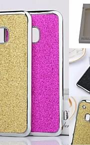 HTC 하나 M9 (aorted 색)에 대한 kemile 2015 새로운 고급 블링 반짝이 크롬 CAE 커버