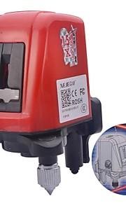NEJE 360 Degrees Self-leveling Cross 2-Line 1-Point Laser Level Instrument
