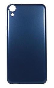 Para Funda HTC Cromado Funda Cubierta Trasera Funda Un Color Dura Policarbonato HTC